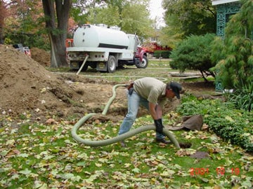 pumping septic tank problems