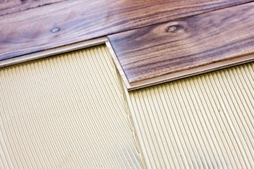 how to install a wood floor