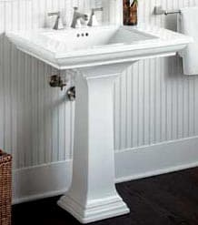 how to install bathroom sink