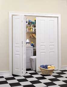 bi-fold laundry room doors
