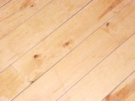 scratched dirty wood floors