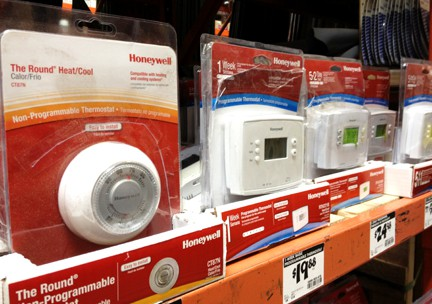 mechanical and digital thermostats