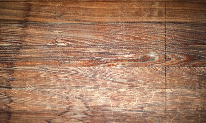 Reclaimed wood floors are loaded with natural character. Photo: Clay Gilpin   Dreamstime
