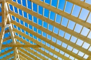 roof rafters and battens