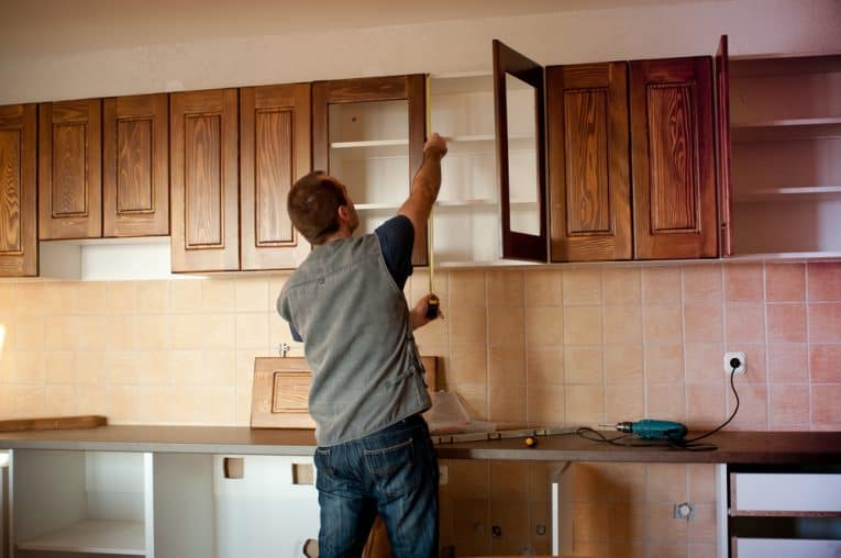 cabinet refinishing refacing