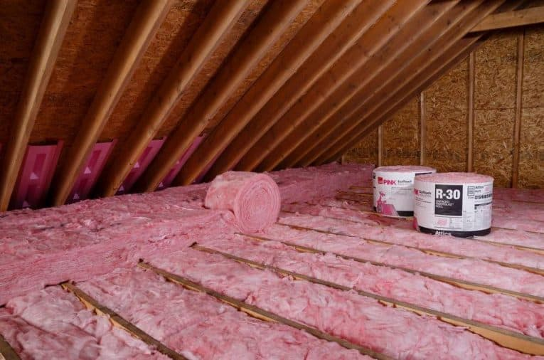 Unfaced insulation
