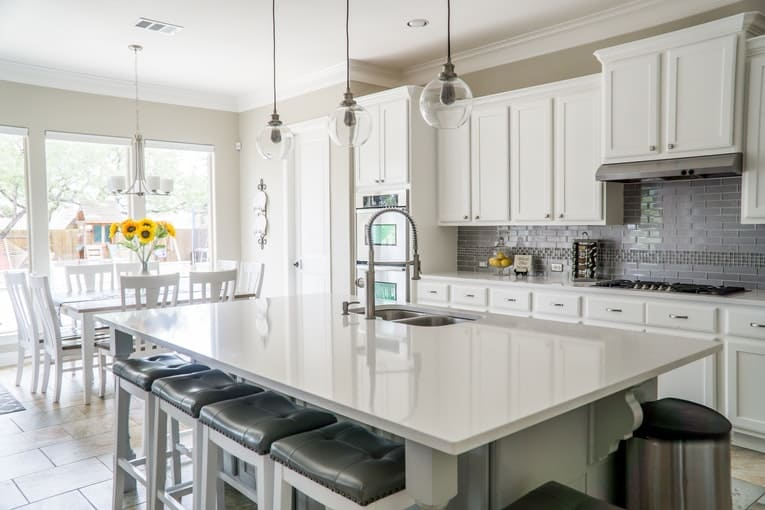 neutral toned kitchen colors and cabinets